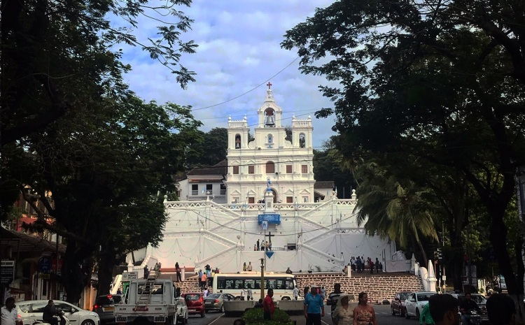 Our Lady of the Immaculate Conception Church in Panjim, Goa